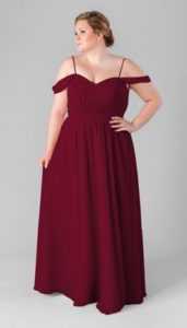 Best Plus Size Burgundy Bridesmaid Dresses