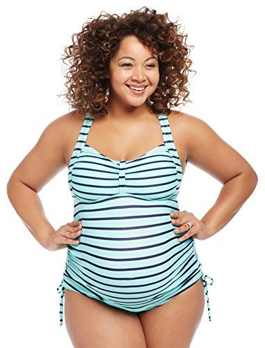 Maternity Swimsuit in Plus Size
