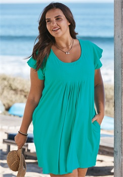 b5521f4bfa0 Plus Size Bathing Suit Cover Ups for Women