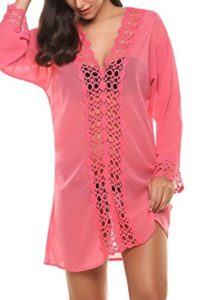 Plus Size Lace Bathing Suit Cover Ups