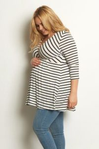 Plus Size Maternity Nursing Tops
