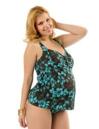 Plus Size Maternity Swimsuits