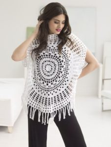 Crochet Tops Plus Size