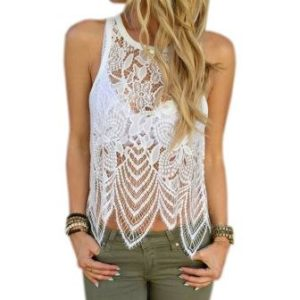 Plus Size Crochet Tank Tops