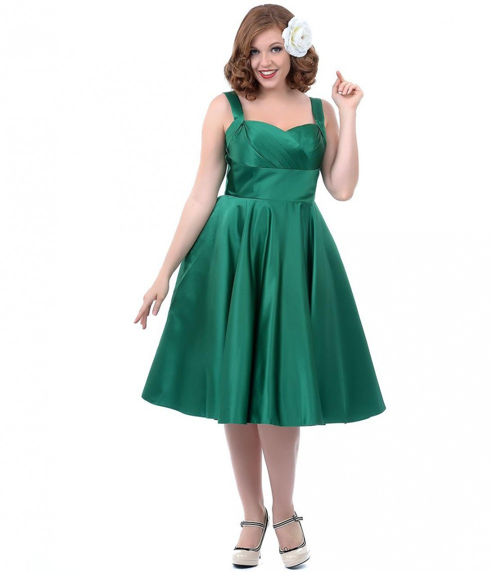 Plus Size Bridesmaid Dresses: Most Stunning Plus Size Green Bridesmaid Dresses