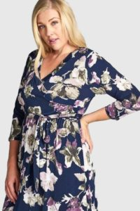 Plus Size Floral Maxi for Women