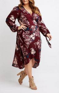 Plus Size Long Floral Maxi Dresses