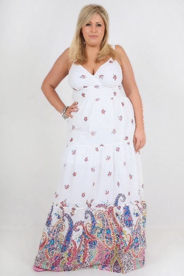 Most Beautiful Plus Size Floral Maxi Dresses for Women