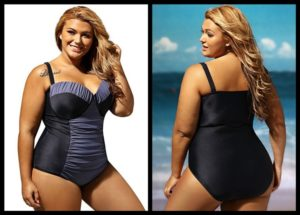 Plus Size Swimwear with Underwire