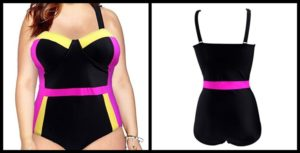 Plus Size Underwire Swimwear
