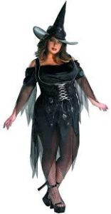Witch Costume in Plus Size