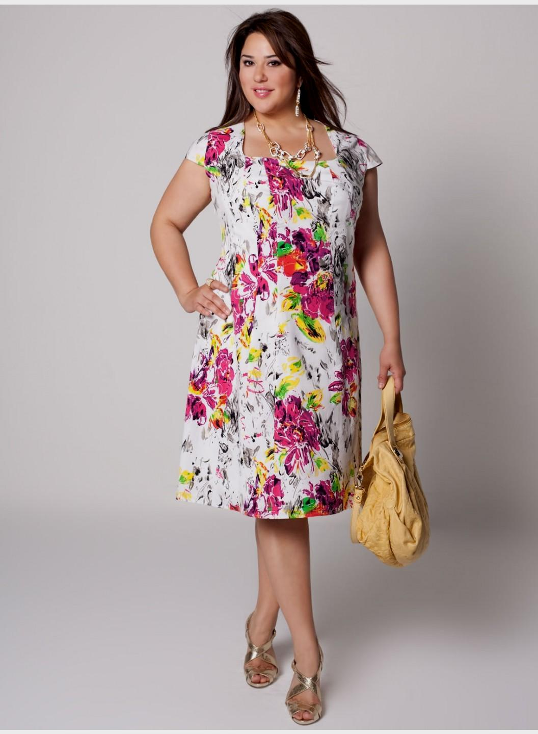 Plus Size Cotton Sundresses