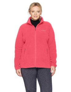 Columbia Fleece Jacket Plus Size for Women