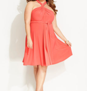 Convertible Dress Plus Size