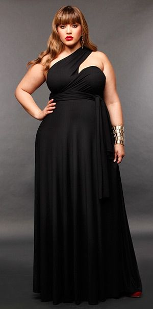 Convertible Infinity Dress for Plus Size