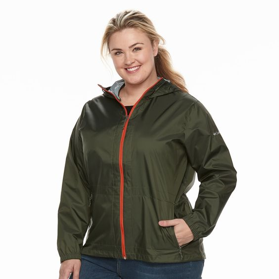 Hood Jackets Plus Size