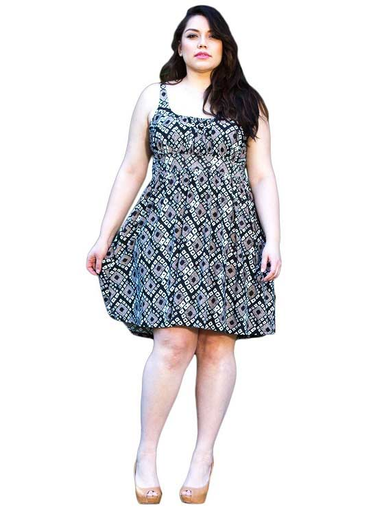Plus Size Cotton Summer Dresses Canada – All About The Dress A ...