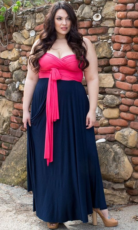 Infinity Dress Plus Size Images