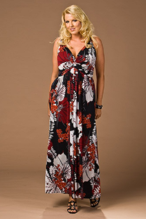 Maxi Plus Size Sundress