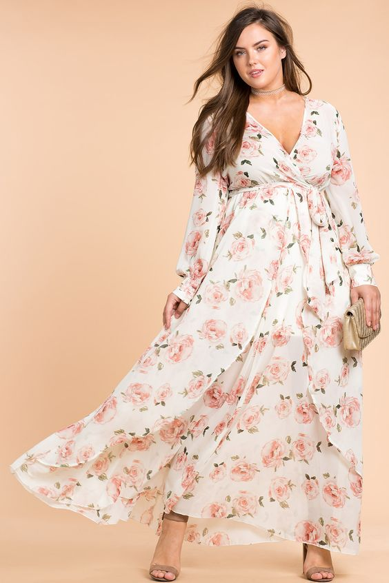 Maxi Sundresses Plus Size