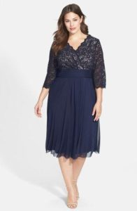 Mother of the Bride Dresses Plus Size Tea Length