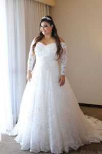 Off The Shoulder Wedding Gowns