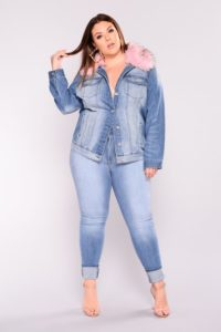 Oversized Denim Jackets for Ladies