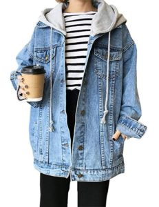 Oversized Denim Jackets for Women