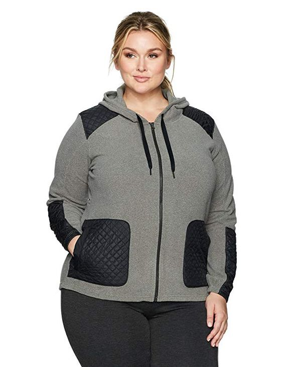 Plus Size Columbia Fleece Jacket