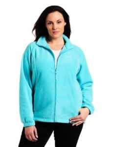 Plus Size Fleece Jacket Columbia