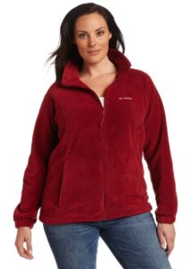 Plus Size Fleece Jacket Columbia Women