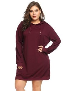 Plus Size Hoodie Pullover