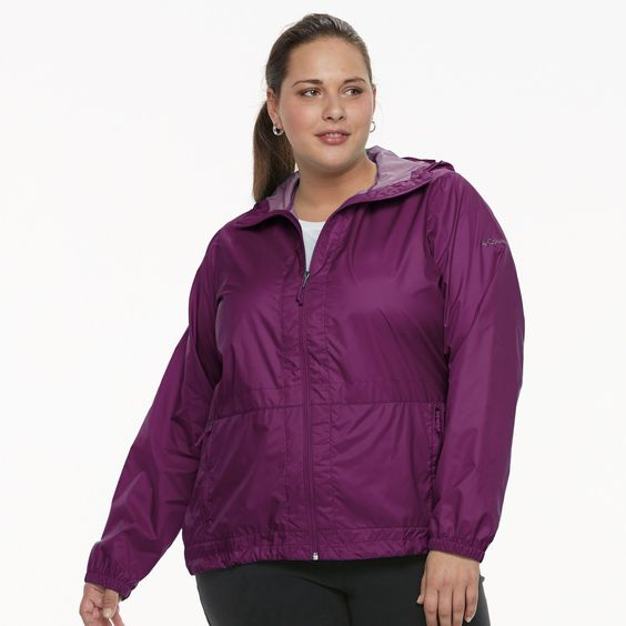 Plus Size Jacket Hood