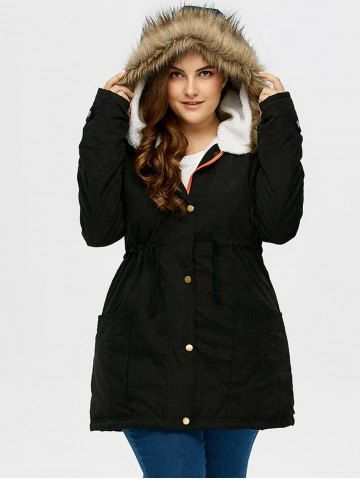 Plus Size Jackets with Hood