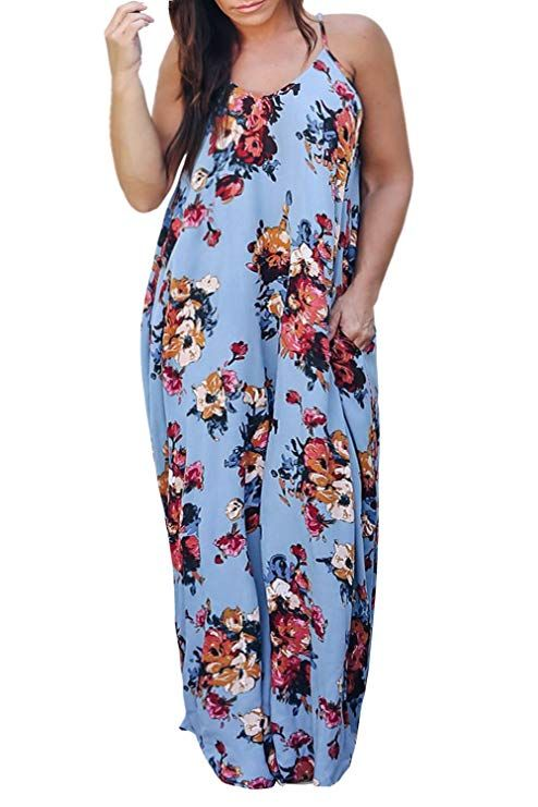Plus Size Maxi Sundress