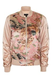 Plus Size Pink Bomber Jackets