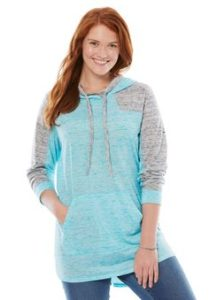 Plus Size Pullover Hoodie for Girls