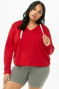 Plus Size Pullover Hoodie