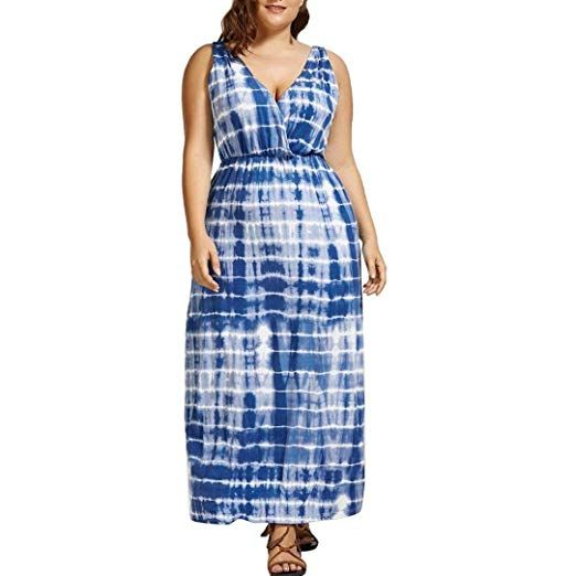 Plus Size Sundress Maxi
