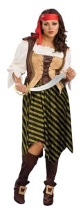 Plus Size Womens Pirate Costume