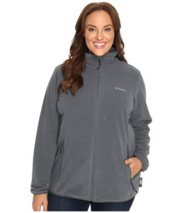 Plus Sized Fleece Jacket Columbia Women
