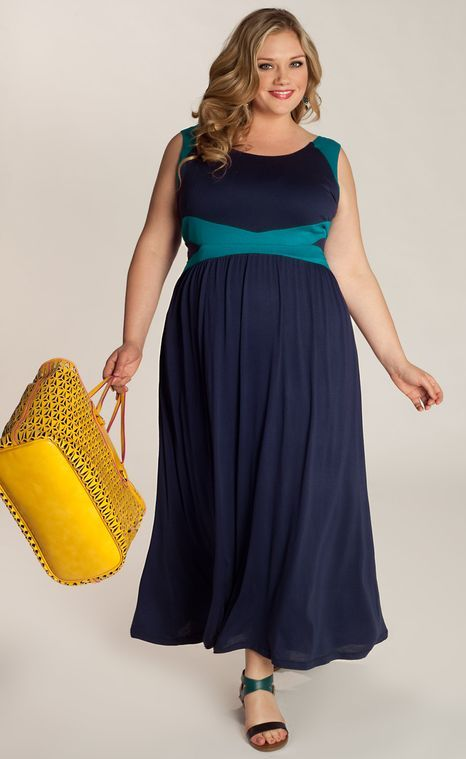 Plus Sized Maxi Sundress