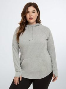 Pullover Hoodie Plus Size