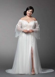 Women's Off Shoulder Wedding Dress