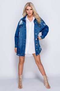 Women's Oversized Denim Jacket