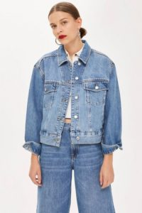 Womens Oversized Denim Jacket
