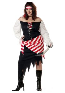 Women's Pirate Costume in Plus Size