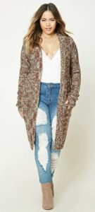 Duster Cardigan Plus Size