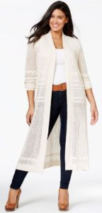 Duster Cardigan in Plus Size