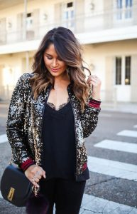 Multicolored Plus Size Sequin Jackets